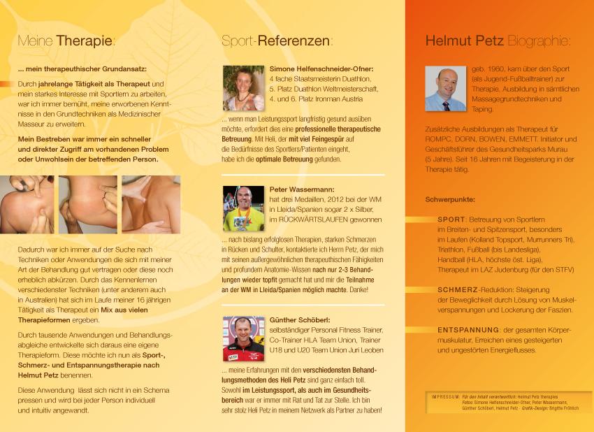 Helmut Petz Therapies